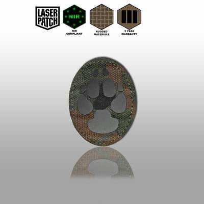 Patch Zahlen / Number Cordura (NIR) - Laser-Cut Multicam, Coyote, Olive, Black