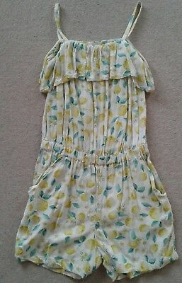 Super cute lemons playsuit age 11 years