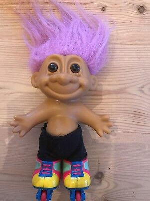 Russ Troll Doll Roller Blader Collectable Rox 5inches