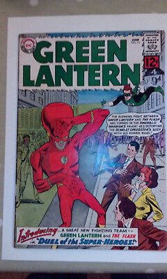 Green Lantern issue 13 (with the Flash) June 1962