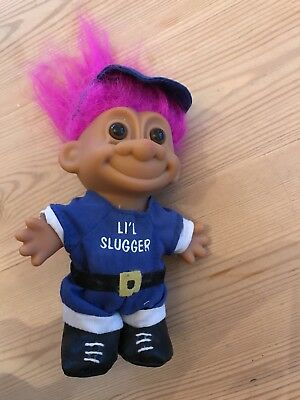 Russ Troll Doll Baseball Rox 5inches Collectable