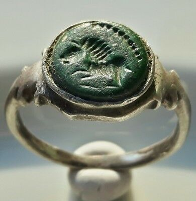 Celtic Silver Ring ** Lion  ** Amazing Warrior Ring ** Unique & Rare !!!