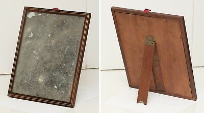 Antique Rosewood/ Mahogany Brass Inlaid Mirror from 1810 Dressing Case