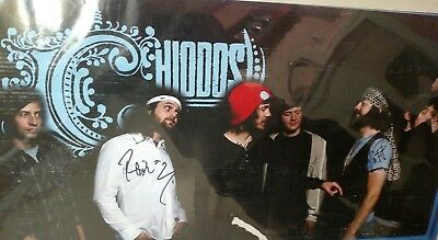 Chiodos Signed Autographed Band Poster