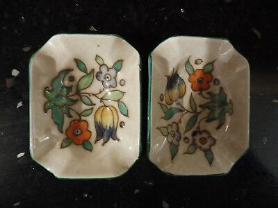 Charlotte Rhead for Woods Ash trays in T.L. 14