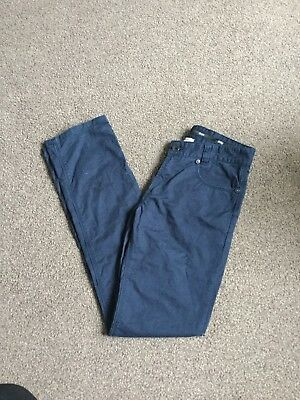 boys navy blue hugo boss jeans trousers age 12 years