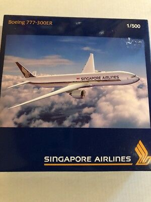 Herpa Wings Singapore Airlines B777-300ER 1:500