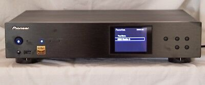 PIONEER N-50A Network Audio Player, Black, Superb Sound, Exc cond,11 mos old