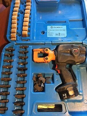 Cembre B50 Hydraulic Battery Driven Crimping Tool with dies