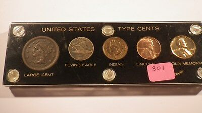 High End One Cent Type Set - Item 301