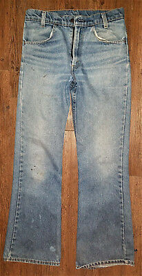 Vintage Levi's Orange Tag Jeans Made in USA 30 x 28ish Flared
