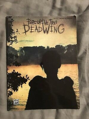 Porcupine Tree Deadwing Guitar TAB Music Book Alfred 2005 Fast Post UK