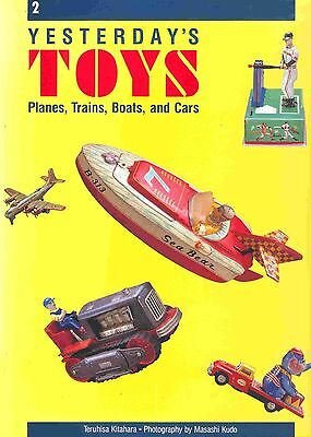 """""""yesterday,s Toys 2 - Planes Trains Boats Cars""""  Big Colourful Pictures !"""