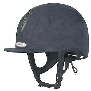 Champion  Junior X-air Plus Kids Safety Wear Riding Hat - Navy 57cm brand new
