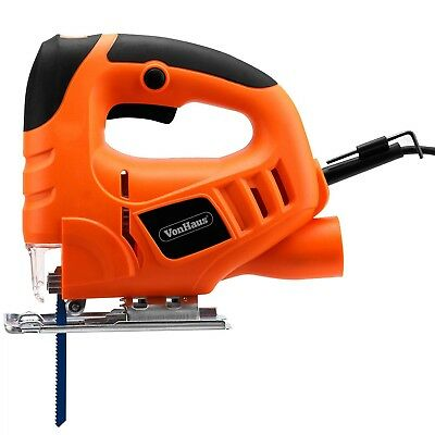 VonHaus 400W Jigsaw Compact Cutting Variable Speeds Corded Electric