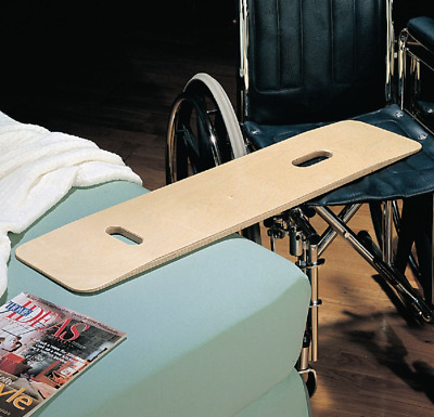 Transfer Board - Wheelchair Elderly Disabled People Tapered Wooden Slide Handles