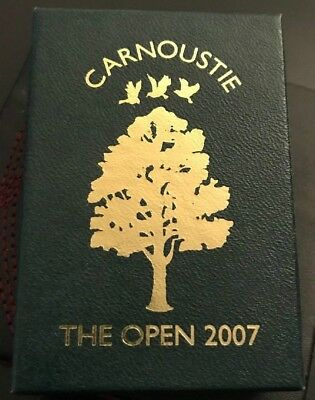 The 2007 Open at Carnoustie Commemorative Gift Box Pitch Repair and Ball Marker
