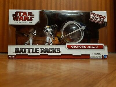Star Wars Battle Packs - Geonosis Assault - Legacy Collection