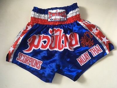 Twins Muay Thai Boxing Shorts Large, Excellent Condition