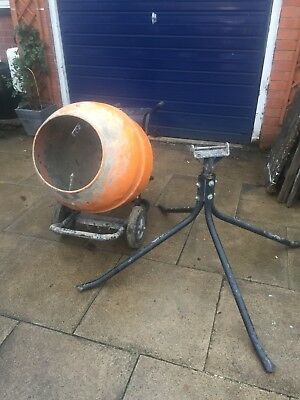 Petrol Cement Mixer With Stand