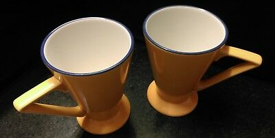 Churchill Pottery Art Deco style mugs