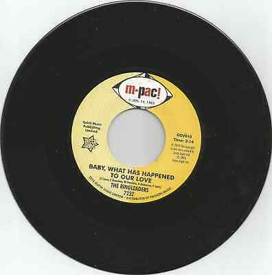 RINGLEADERS - Baby what has happened to our love - NORTHERN SOUL - 7'' - 45rpm