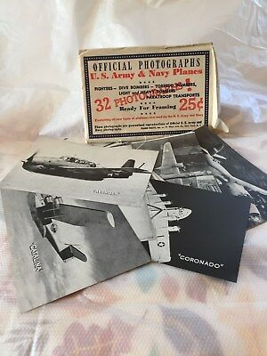Ww2 Offical Photographs Ww2 U S Army And Navy Planes