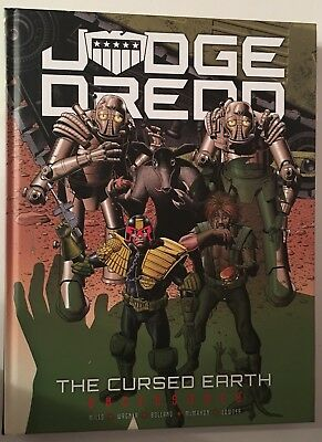 Judge Dread The Cursed Earth Uncensored Hardcover
