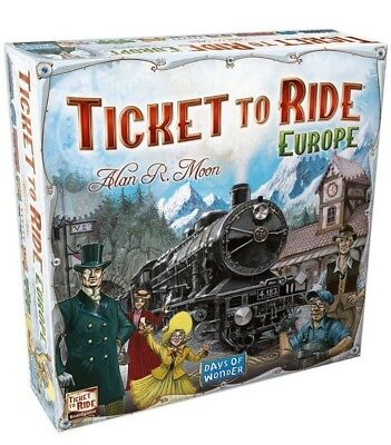 Ticket to Ride Europe Board Game - Brand New Sealed - FREE FAST SHIPPING