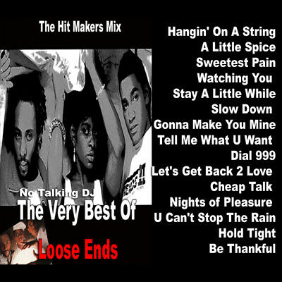 Best Of Loose Ends Mixtape DJ Compilation Mix CD Old School Lovers Mix