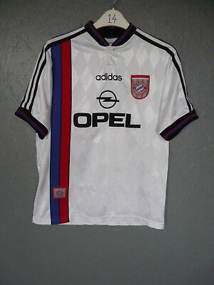 Bayern Munich Adidas 1995 Away Football Shirt Trikot Sz YXL D176 (014)