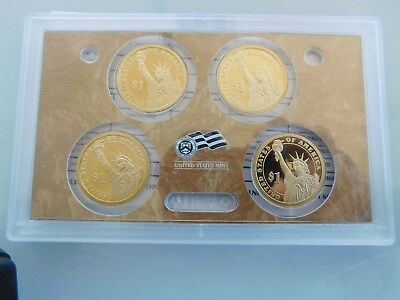 COINS.US.MINT.PRESIDENTIAL$.1.dollar.PROOF.SET.2009.