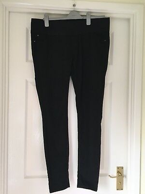 New Look Black Maternity Jeggings Size 14