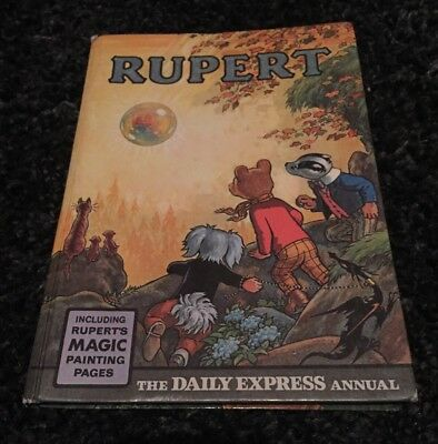 Rupert Annual book 1968 unclipped