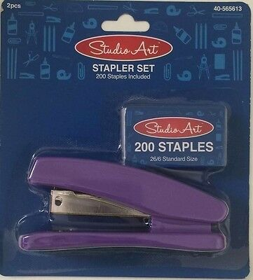 Stapler Set, Home, School, Business, 200 staples included. PURPLE!!!!!!!