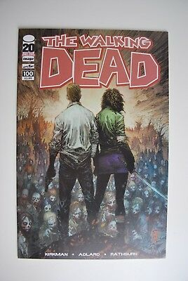 The Walking Dead #100 B - Nm/m - First Appearance Of Negan - Image Comics