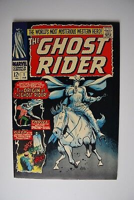 The Ghost Rider #1 - 1967 - High Grade - Silver Age - Marvel Comics