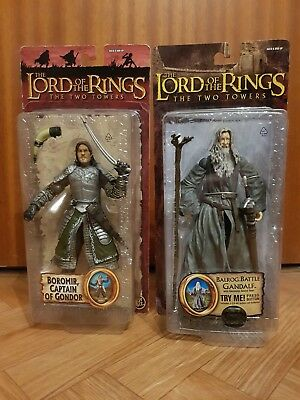 Lord of the Rings - The Two Towers - Boromier & Gandalf - OVP