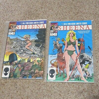 Sheena #1-2 Limited Series Comics
