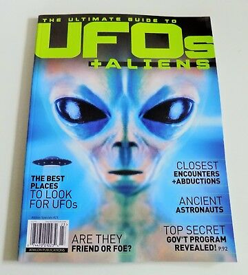 Athlon Publications Ultimate Guide to UFOs and Aliens magazine abductions clues