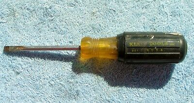 Vintage Klein 601 3 Inch Flat Head Screwdriver
