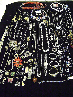 Large Mixed Lot of Vintage and Costume Jewelry ~ Brighton, Monet, Napier & More