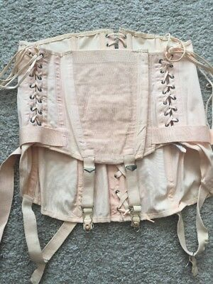 Camp Corset Vintage Girdle Fan Lacing
