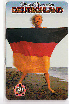 Sexy Charme Pin-Up Art  Telecarte / Phonecard .. Allemagne Marilyn Monroe Neuve