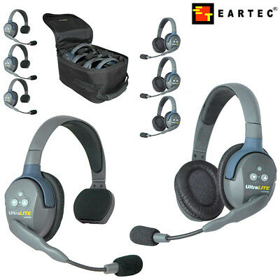 Eartec Wireless Headsets UltraLITE UL series Single Double Sets l USA Frequency