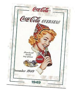 Coca Cola Collection Series 2 (1994) 1949 # 185 Overseas All Over the World