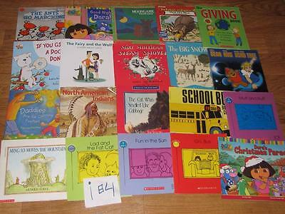 HUGE Lot of 100 Children's Picture Books Most Scholastic school summer reading#