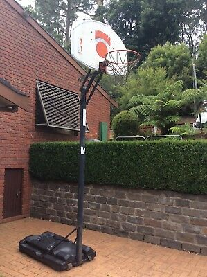 Portable Basketball Ring System - Huffy backboard