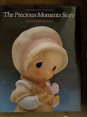 Precious Moments Story Book and Bible and 1st Edition Collectors Guide