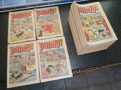 Complete Library of 145 Vintage DANDY COMICS Aug 9 1980 to May 14 1983 2020-2164
